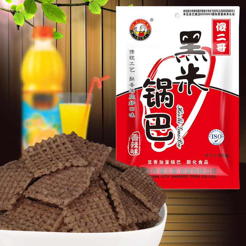 黑米锅巴香辣味 100g