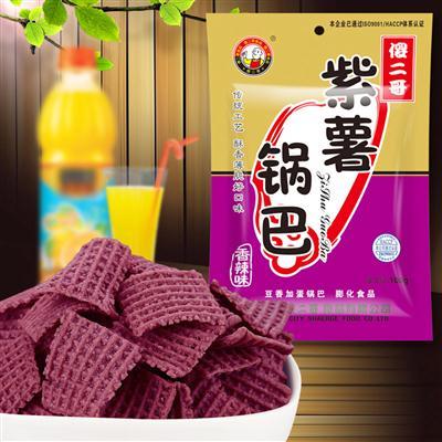 紫薯锅巴(香辣味)100g